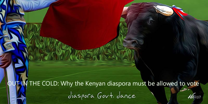 OUT IN THE COLD: Why Kenyan diaspora must be allowed to vote